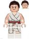 Minifig No: sw1054  Name: Rey - White Tied Robe