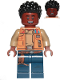 Minifig No: sw1066  Name: Finn - Medium Dark Flesh Jacket and Dark Blue Legs with Holster