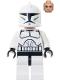 Minifig No: sw1090  Name: Clone Trooper Clone Wars - Anakin Head