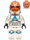 Minifig No: sw1097  Name: 332nd Company Clone Trooper