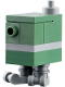 Minifig No: sw1111  Name: Gonk Droid (GNK Power Droid), Sand Green