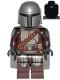 Minifig No: sw1135  Name: The Mandalorian (Din Djarin / 'Mando') - Silver Beskar Armor, Cape