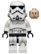 Minifig No: sw1168  Name: Stormtrooper - Female (Dual Molded Helmet, Gray Squares on Back, Grimacing)