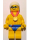 Minifig No: tgb002  Name: Stealth Swimmer - Team GB Minifigure Entry