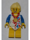 Minifig No: tgb006  Name: Flexible Gymnast - Team GB Minifigure Entry
