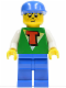 Minifig No: tim004  Name: Time Cruisers - Timmy with Blue Legs, Blue Cap