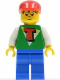 Minifig No: tim006  Name: Time Cruisers - Timmy with Blue Legs and Red Cap