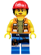 Minifig No: tlm009  Name: Gail the Construction Worker - Minifigure only Entry