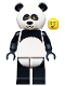 Minifig No: tlm015  Name: Panda Guy - Minifigure only Entry