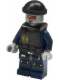 Minifig No: tlm044  Name: Robo SWAT with Vest and Knit Cap