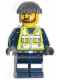 Minifig No: tlm050  Name: Garbage Man Grant