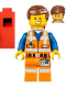 Minifig No: tlm059  Name: Emmet - Wide Smile, Piece of Resistance