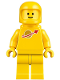Minifig No: tlm109  Name: Classic Space - Yellow with Airtanks and Updated Helmet (Second Reissue - Kenny)
