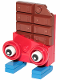 Minifig No: tlm128  Name: Chocolate Bar