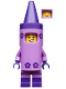 Minifig No: tlm152  Name: Crayon Girl - Minifigure only Entry