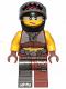 Minifig No: tlm176  Name: Sharkira - Helmet