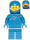 Minifig No: tlm185  Name: Benny - Big Smile / Cheerful