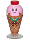 Minifig No: tlm199  Name: Ice Cream Cone - Printed Arms