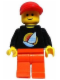 Minifig No: tls003  Name: Lego Brand Store Male, Surfboard on Ocean - Costa Mesa