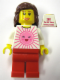 Minifig No: tls011  Name: Lego Brand Store Female, Pink Sun - Toronto Sherway Square