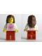 Minifig No: tls014  Name: Lego Brand Store Female, Pink Sun - Lone Tree