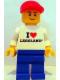 Minifig No: tls018  Name: Lego Brand Store Male, I Love Legoland - San Diego