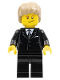 Minifig No: tls019  Name: Lego Brand Store Male, Dark Tan Hair - Liverpool