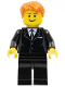 Minifig No: tls021  Name: Lego Brand Store Male, Dark Orange Hair - Liverpool