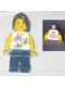 Minifig No: tls022  Name: Lego Brand Store Female, Yellow Flowers - Pleasanton