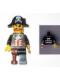 Minifig No: tls023  Name: Lego Brand Store Male, Pirate Captain Brickbeard - Pleasanton
