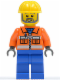 Minifig No: tls035  Name: Lego Brand Store Male, Construction Worker (no back printing) {Stratford}