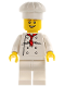 Minifig No: tls036  Name: Lego Brand Store Male, Chef (no back printing) {So Ouest, Stratford}