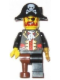 Minifig No: tls037  Name: Lego Brand Store Male, Pirate Captain Brickbeard - Vancouver