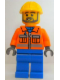 Minifig No: tls047  Name: Lego Brand Store Male, Construction Worker - Wauwatosa