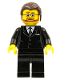 Minifig No: tls056  Name: Lego Brand Store Male, Black Suit (no back printing) {Saarbrücken, So Ouest}