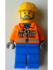 Minifig No: tls063  Name: Lego Brand Store Male, Construction Worker - Peabody