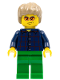 Minifig No: tls064  Name: Lego Brand Store Male, Plaid Button Shirt (no back printing) {Manchester}
