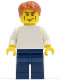 Minifig No: tls065  Name: Lego Brand Store Male, Plain White Torso, Cheek Lines (no back printing) {Manchester}