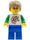 Minifig No: tls068  Name: Lego Brand Store Male, Classic Space Minifigure Floating (no back printing) {Sheffield}
