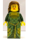 Minifig No: tls072  Name: Lego Brand Store Female, Green Princess (no back printing) {Lille}