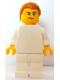 Minifig No: tls077  Name: Lego Brand Store Male, Plain White (no back printing) {Leeds}