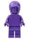 Minifig No: tls107  Name: Dark Purple Monochrome with Beehive