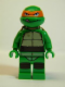 Minifig No: tnt003  Name: Michelangelo
