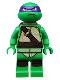 Minifig No: tnt019  Name: Donatello, Frown