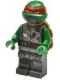 Minifig No: tnt026  Name: Raphael - with Armor