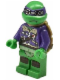 Minifig No: tnt028  Name: Donatello - with Goggles