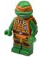 Minifig No: tnt029  Name: Michelangelo - Jumpsuit