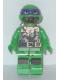 Minifig No: tnt031  Name: Donatello - Scuba Gear