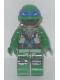 Minifig No: tnt032  Name: Leonardo - Scuba Gear