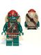 Minifig No: tnt045  Name: Raphael, Gritted Teeth (Movie Version)